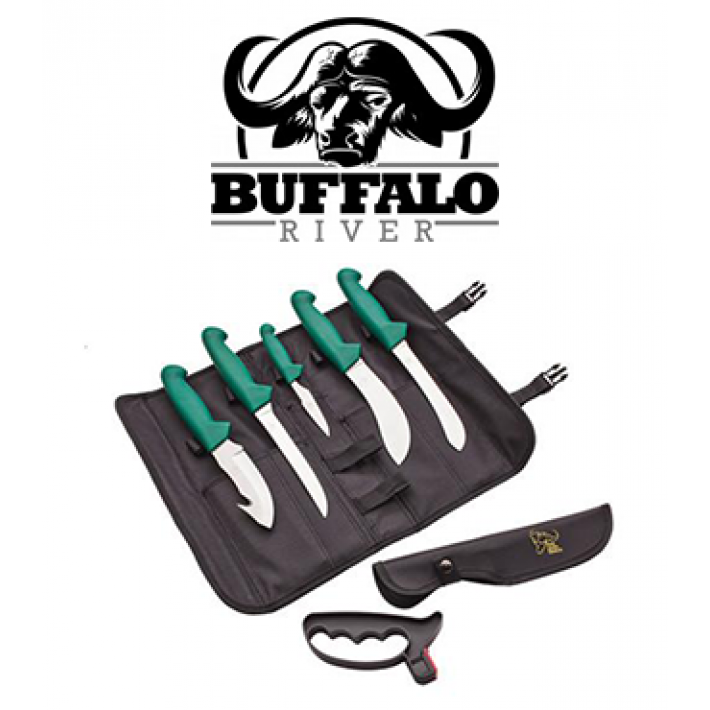 Set de 5 cuchillos Buffalo River