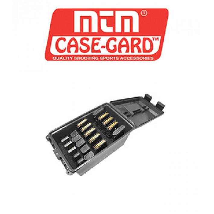Caja para munición MTM Tactical Mag Can para 20 cargadores de arma corta y larga