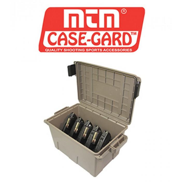 Caja para munición MTM Tactical Mag Can para 9 cargadores de AK