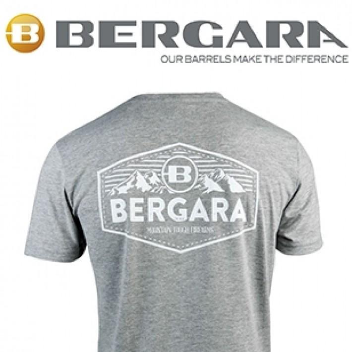 Camiseta Bergara Mountain Tough gris