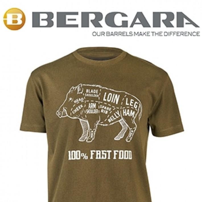Camiseta Bergara Wild Boar kaki