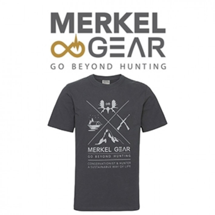 Camiseta Merkel Cross Hunting para hombre
