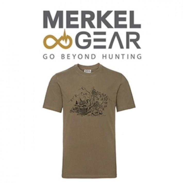 Camiseta Merkel Good Life para hombre