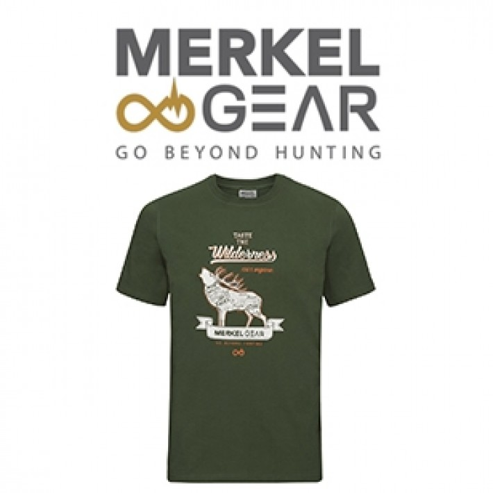 Camiseta Merkel Organic Stag para hombre