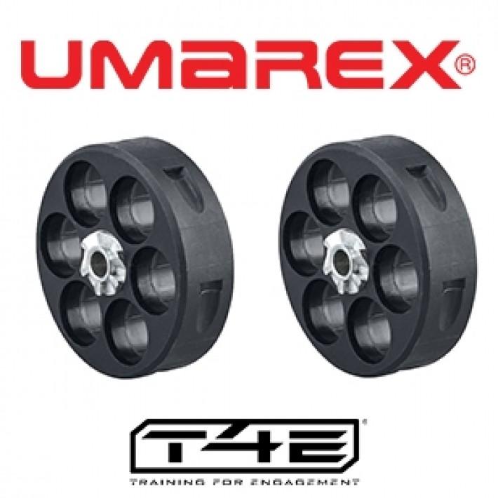 Cargador Umarex HDR 50 T4E - 2 unidades