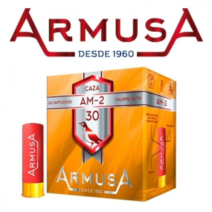 Cartuchos Armusa AM2 30 gramos