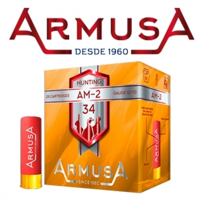 Cartuchos Armusa AM2 34 gramos
