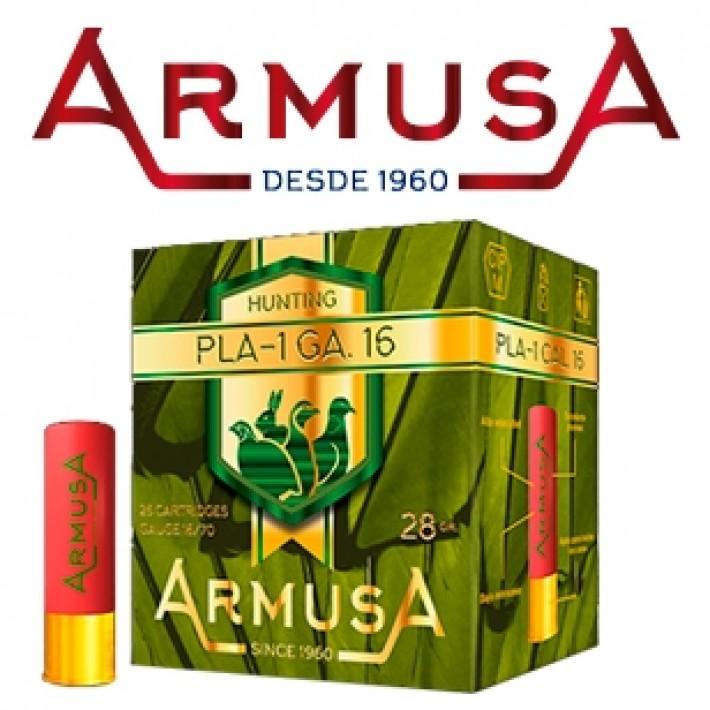 Cartuchos Armusa calibre 16/70 PLA-1 28 gramos