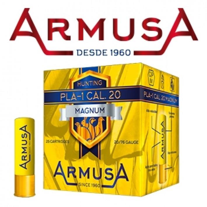 Cartuchos Armusa calibre 20/76 PLA-1 Mágnum 36 gramos