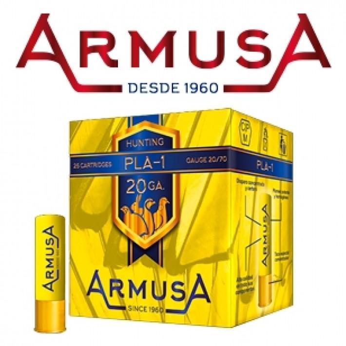Cartuchos Armusa calibre 20/70 PLA-1 28 gramos