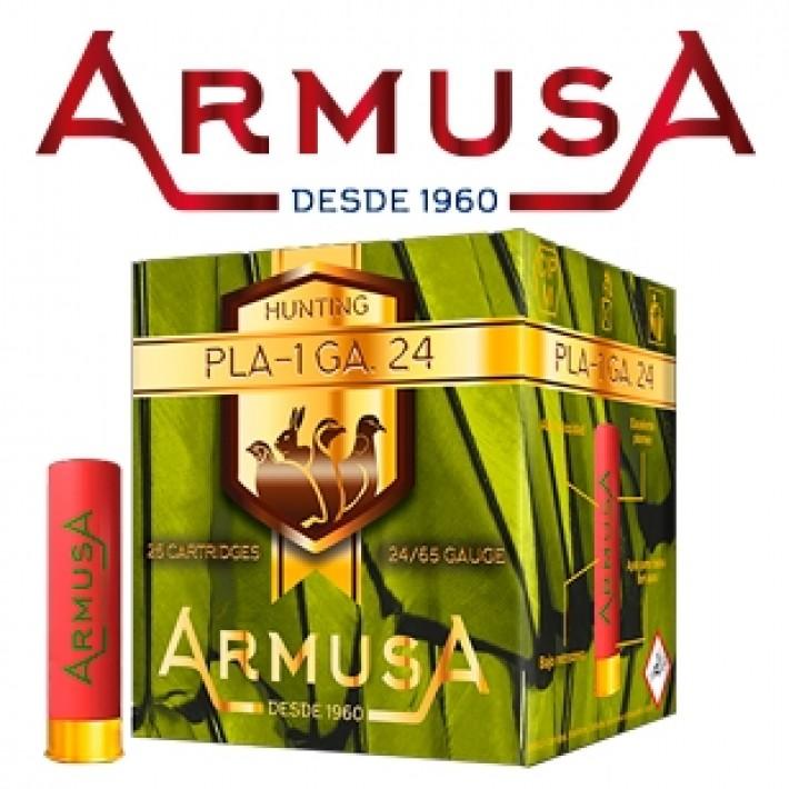 Cartuchos Armusa calibre 24/65 PLA-1 16 gramos