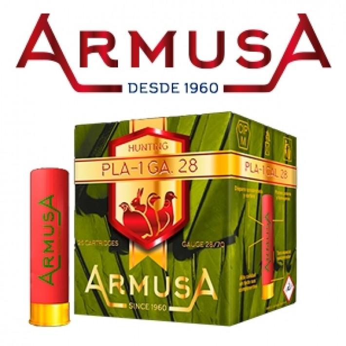 Cartuchos Armusa calibre 28/70 PLA-1 21 gramos