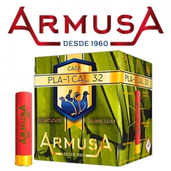 Cartuchos Armusa calibre 32 PLA-1 14 gramos