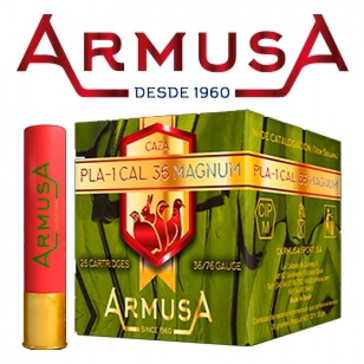 Cartuchos Armusa calibre 36 (410) PLA-1 19 gramos