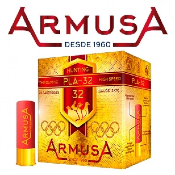 Cartuchos Armusa PLA-32 Olímpico 32 gramos