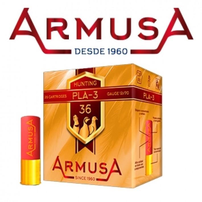 Cartuchos Armusa PLA-3 36 gramos