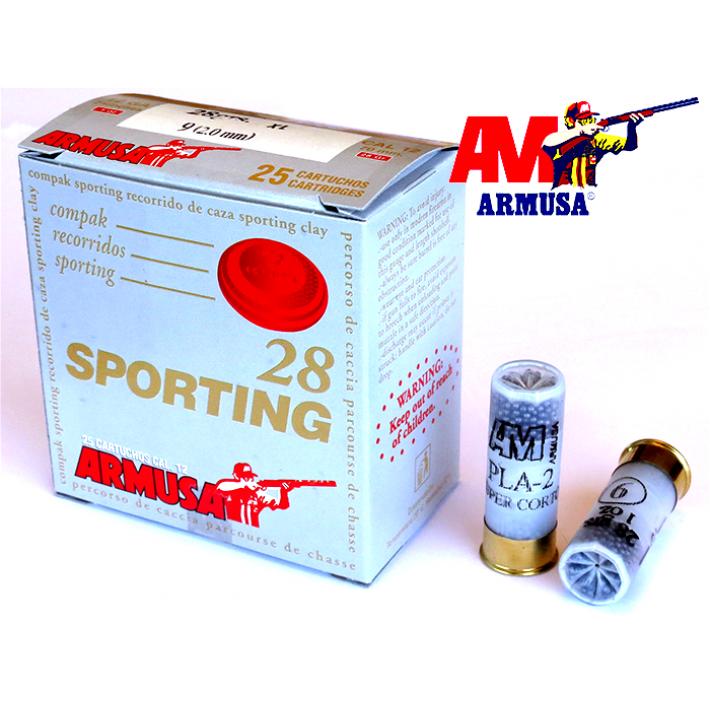 Cartuchos Armusa Sporting Open 28 gramos