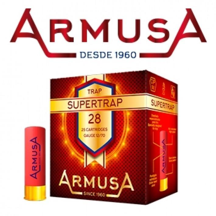 Cartuchos Armusa Super Trap Magnum 28 gramos