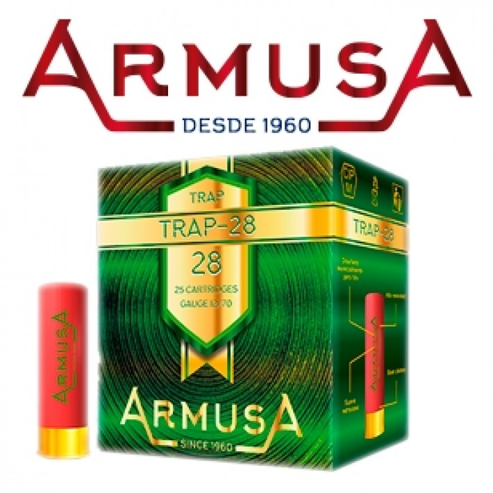 Cartuchos Armusa Super Trap 24 gramos