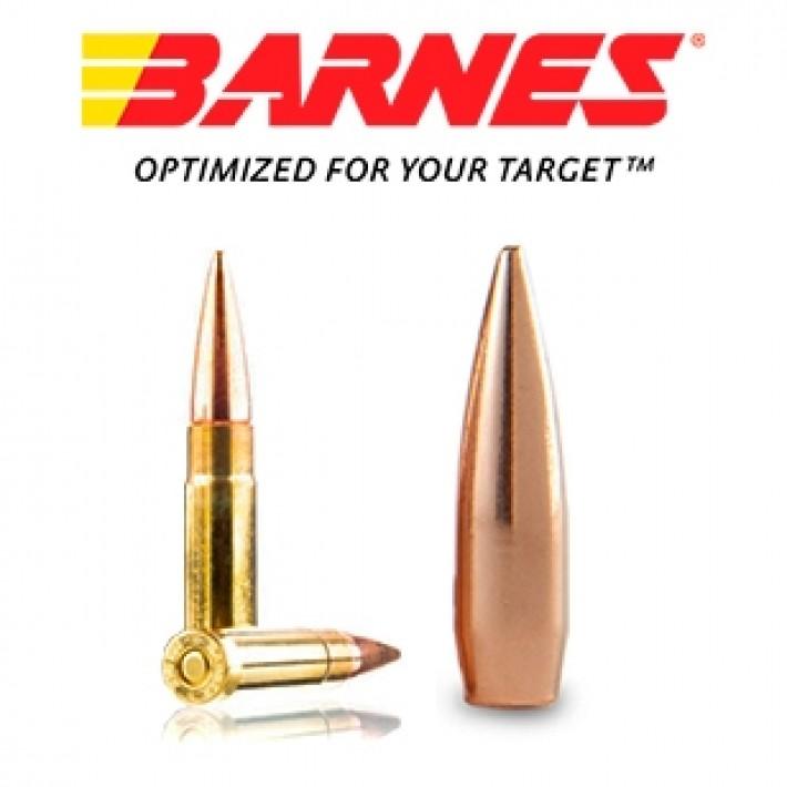 Cartuchos Barnes Precision Match .300 Blackout 125 grains HPBT