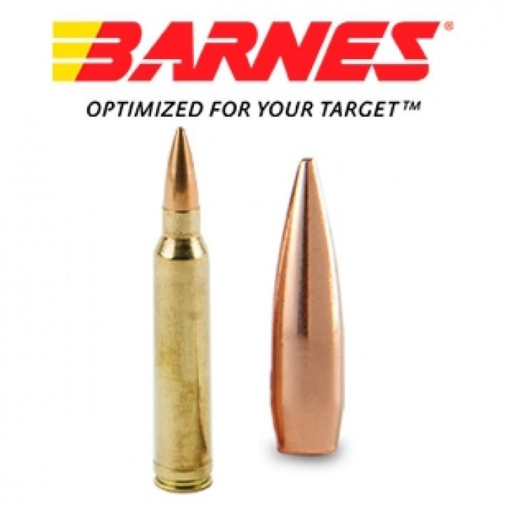 Cartuchos Barnes Precision Match .300 Winchester Magnum 220 grains HPBT