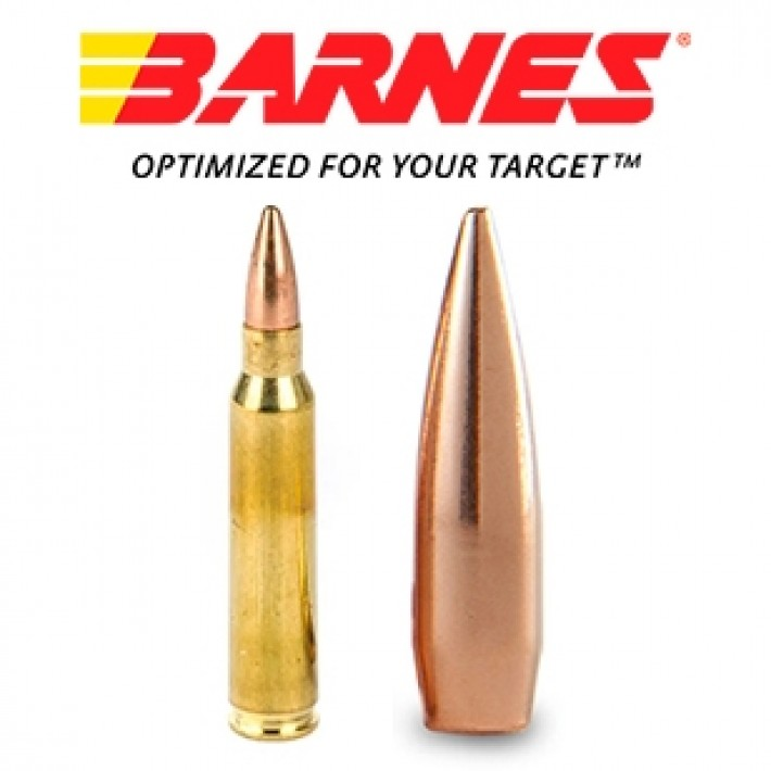 Cartuchos Barnes Precision Match 5.56x45 69 grains HPBT