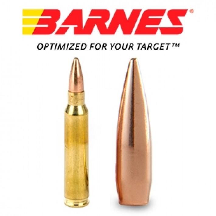 Cartuchos Barnes Precision Match 5.56x45 85 grains HPBT