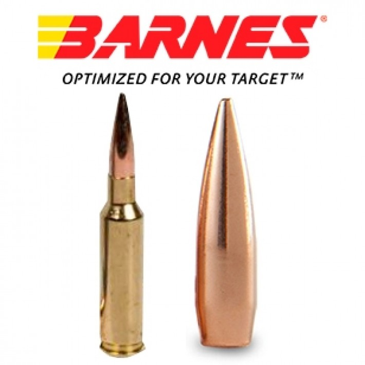 Cartuchos Barnes Precision Match 6.5 Creedmoor 140 grains HPBT