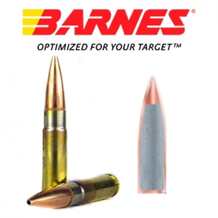 Cartuchos Barnes Range AR .300 Blackout 90 grains HP