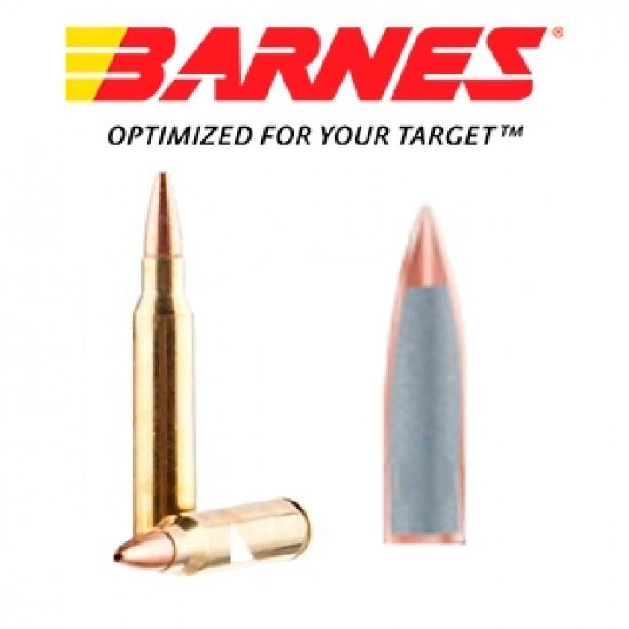 Cartuchos Barnes Range AR 5.56x45 52 grains HP