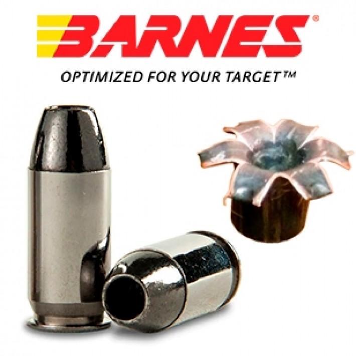 Cartuchos Barnes TAC-XPD .380 Auto 80 grains TAC-XP