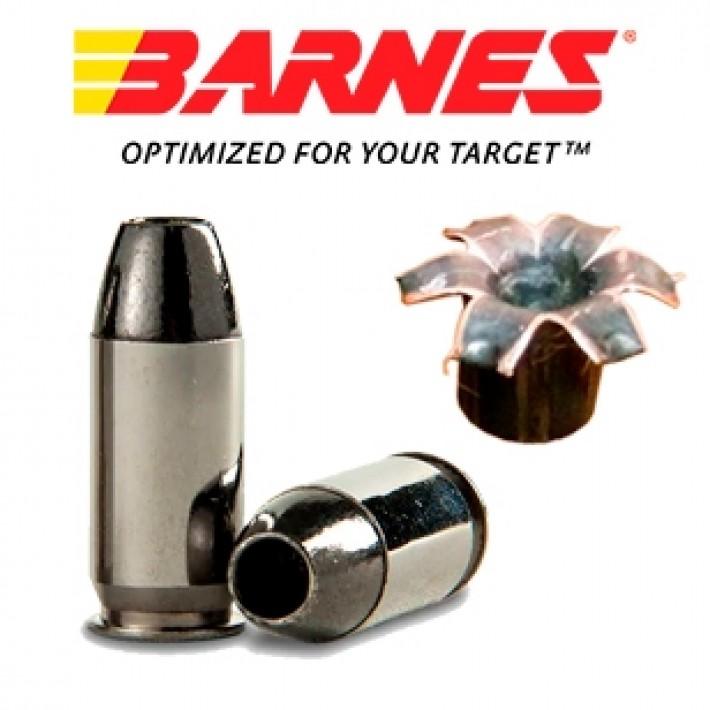 Cartuchos Barnes TAC-XPD .45 Auto + P 185 grains TAC-XP
