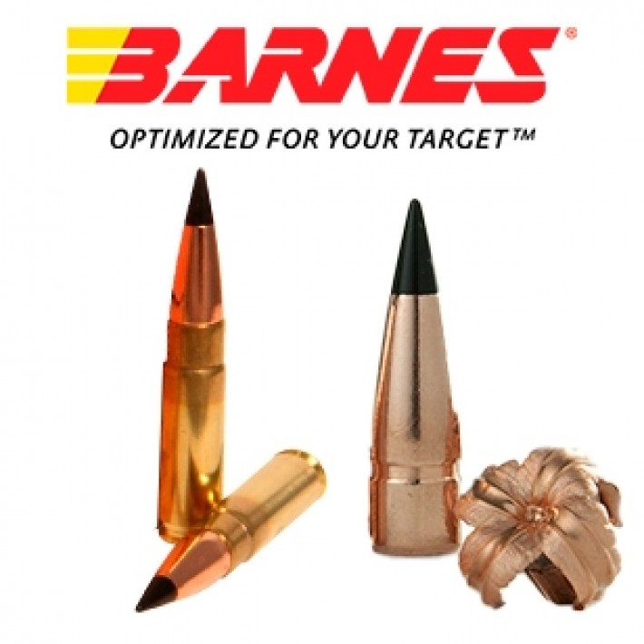 Cartuchos Barnes Vor-Tx .300 AAC Blackout 120 grains TAC-TX