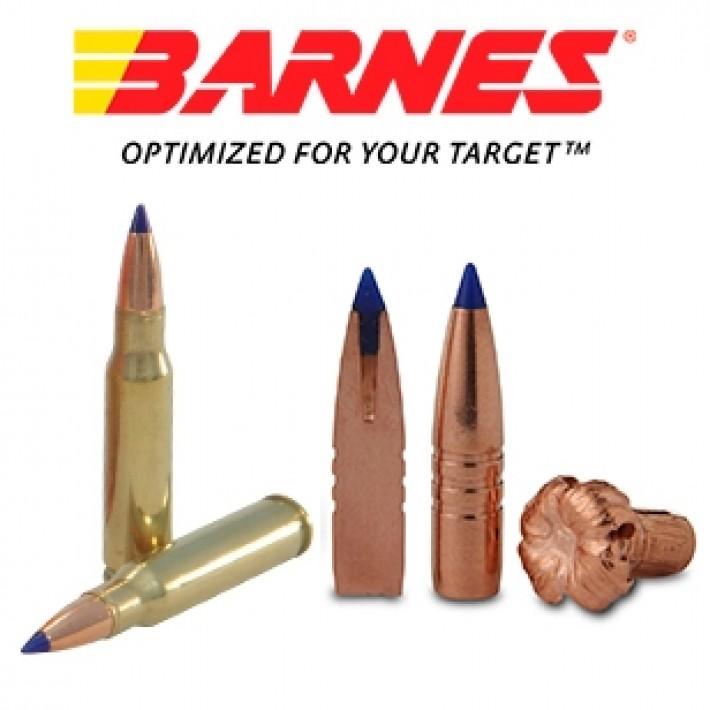 Cartuchos Barnes Vor-Tx .308 Winchester 150 grains TTSX