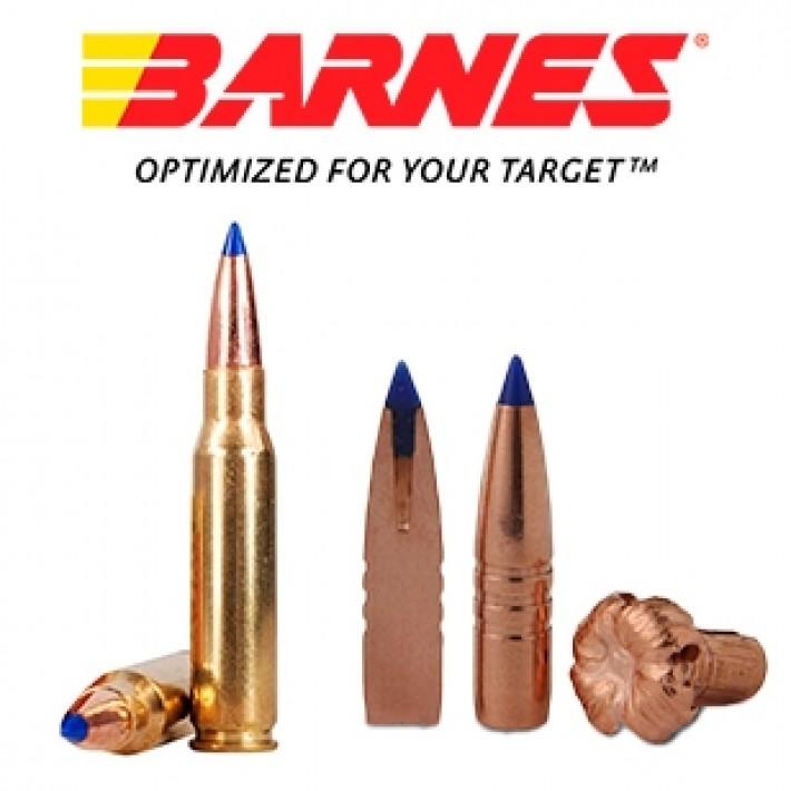 Cartuchos Barnes Vor-Tx .308 Winchester 168 grains TTSX