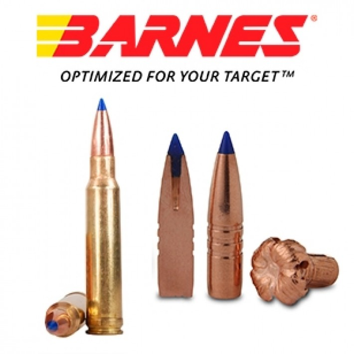 Cartuchos Barnes Vor-Tx .338 Winchester Magnum 225 grains TTSX