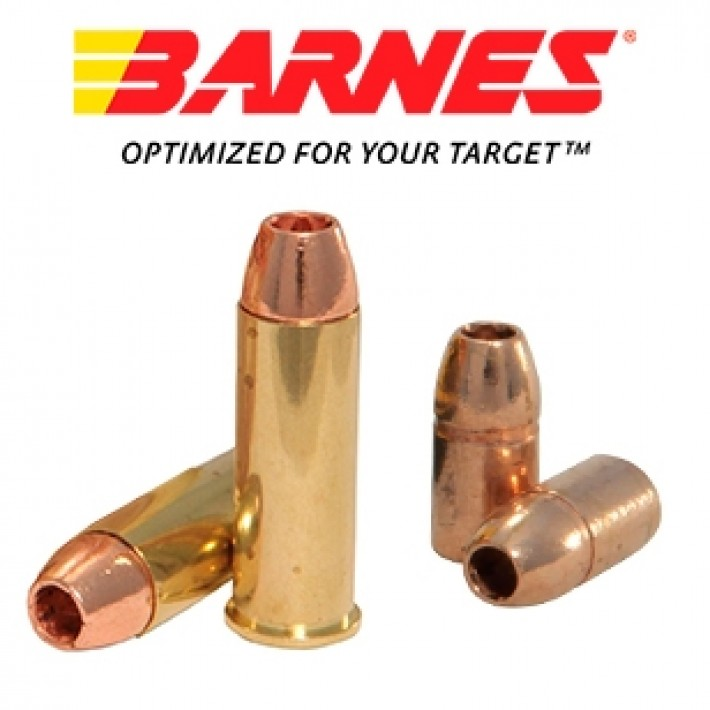 Cartuchos Barnes Vor-Tx .44 Remington Magnum 225 grains XPB
