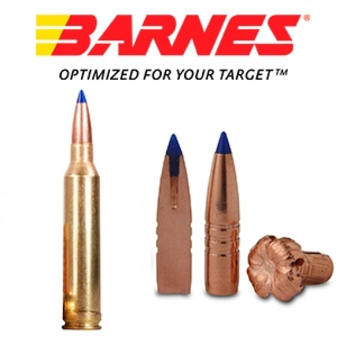 Cartuchos Barnes Vor-Tx 7mm Remington Magnum 140 grains TTSX