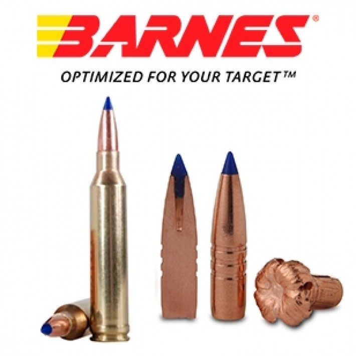 Cartuchos Barnes Vor-Tx 7mm Remington Magnum 150 grains TTSX