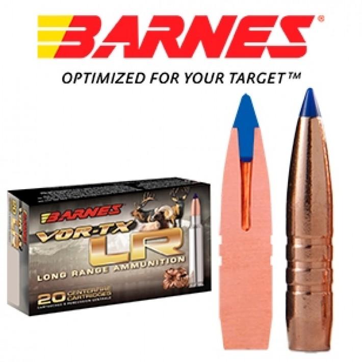 Cartuchos Barnes Vor-Tx LR .338 Remington Ultra Magnum 250 grains LRX
