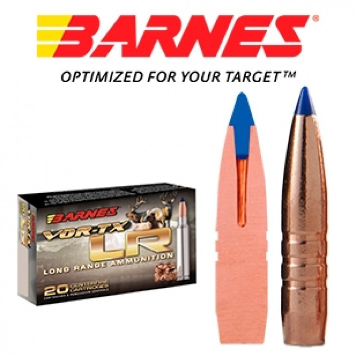 Cartuchos Barnes Vor-Tx LR 7mm Remington Magnum 139 grains LRX