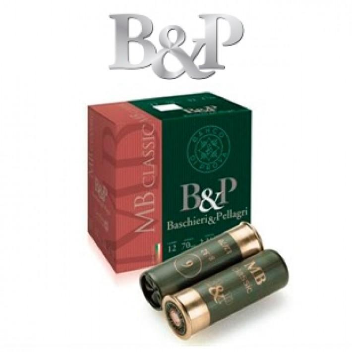 Cartuchos Baschieri & Pellagri MB Classic 32 gramos