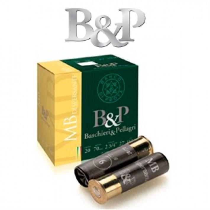 Cartuchos Baschieri & Pellagri MB Dispersante calibre 20 27 gramos