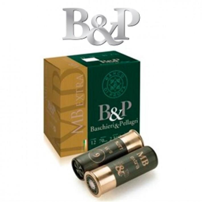 Cartuchos Baschieri & Pellagri MB Extra 35 gramos
