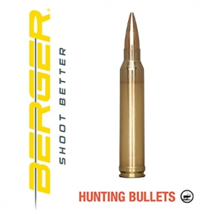Cartuchos Berger Classic Hunter 300 Winchester 168 grains BTHP