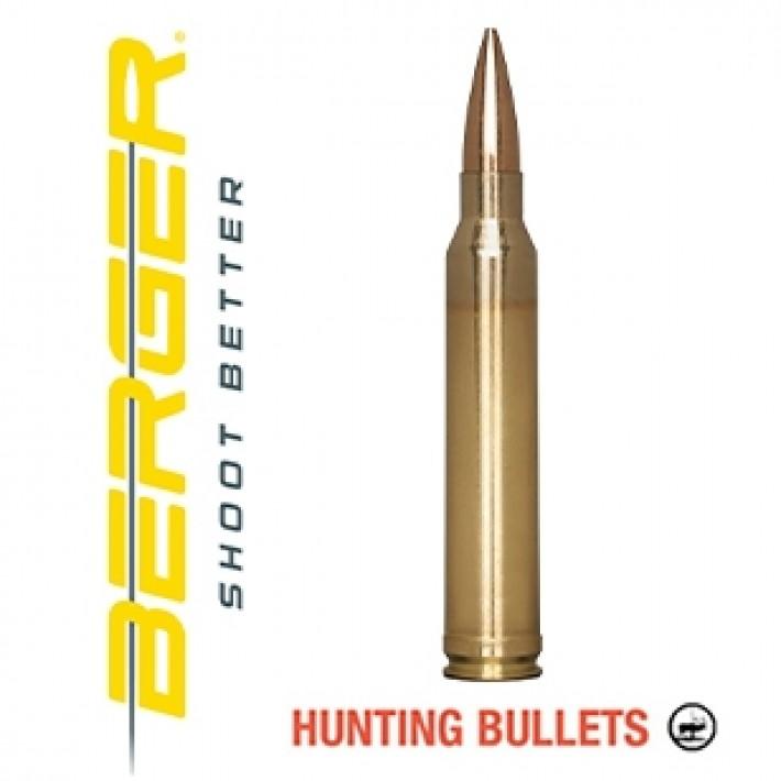 Cartuchos Berger Classic Hunter 300 Winchester Magnum 185 grains BTHP