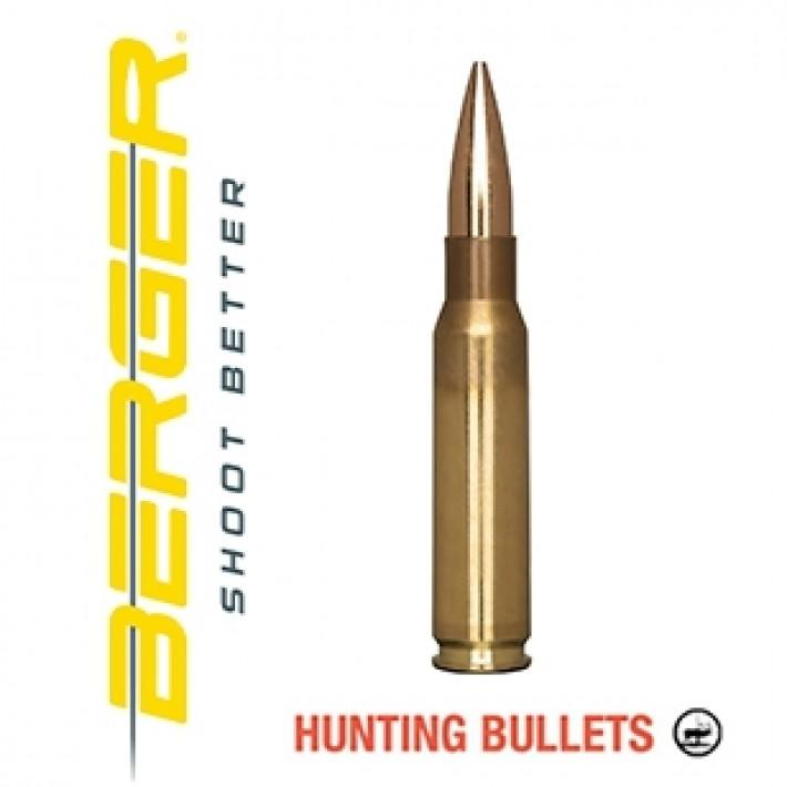 Cartuchos Berger Classic Hunter 308 Winchester 168 grains BTHP