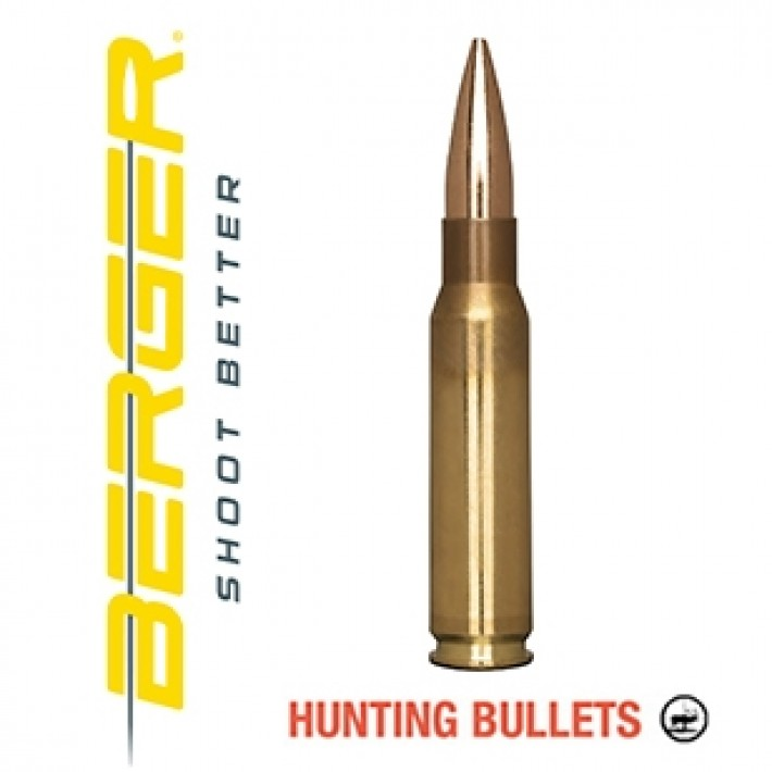 Cartuchos Berger Classic Hunter 308 Winchester 185 grains BTHP