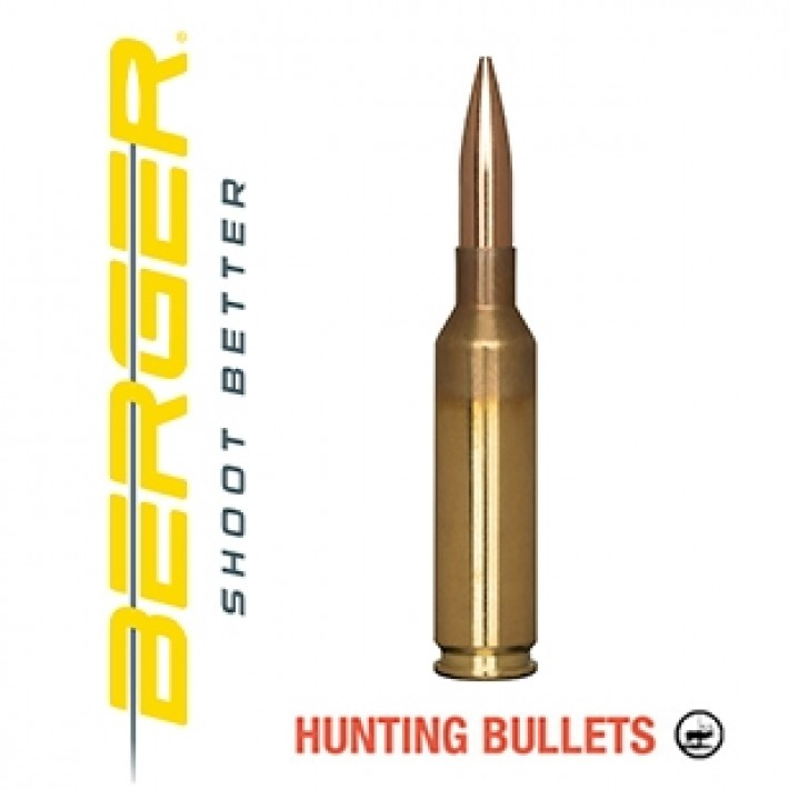 Cartuchos Berger Classic Hunter 6,5 Creedmoor 135 grains BTHP