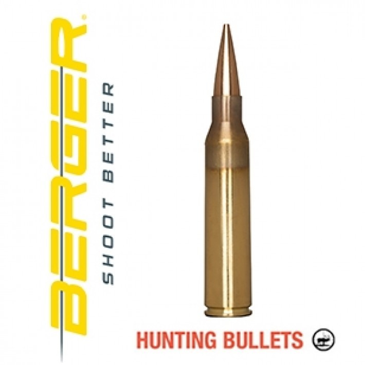 Cartuchos Berger Elite Hunter 338 Lapua Magnum 250 grains BTHP
